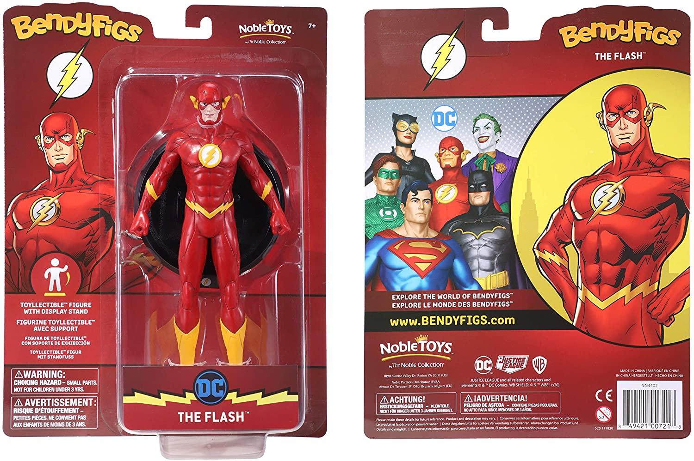 BendyFigs Dc Comics The Flash Oficial licenciado