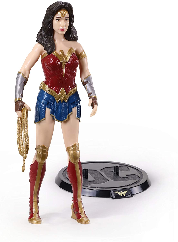 BendyFigs DC Comics Wonder Woman Oficial licenciado