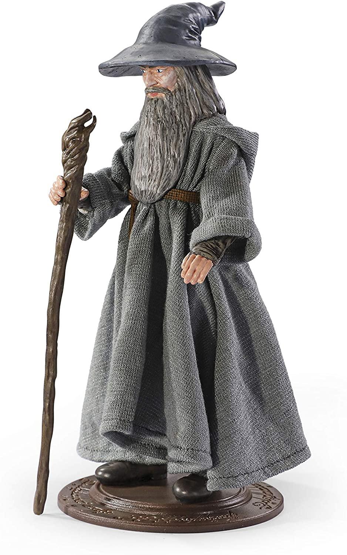BendyFigs Lord of The Rings Gandalf Oficial licenciado