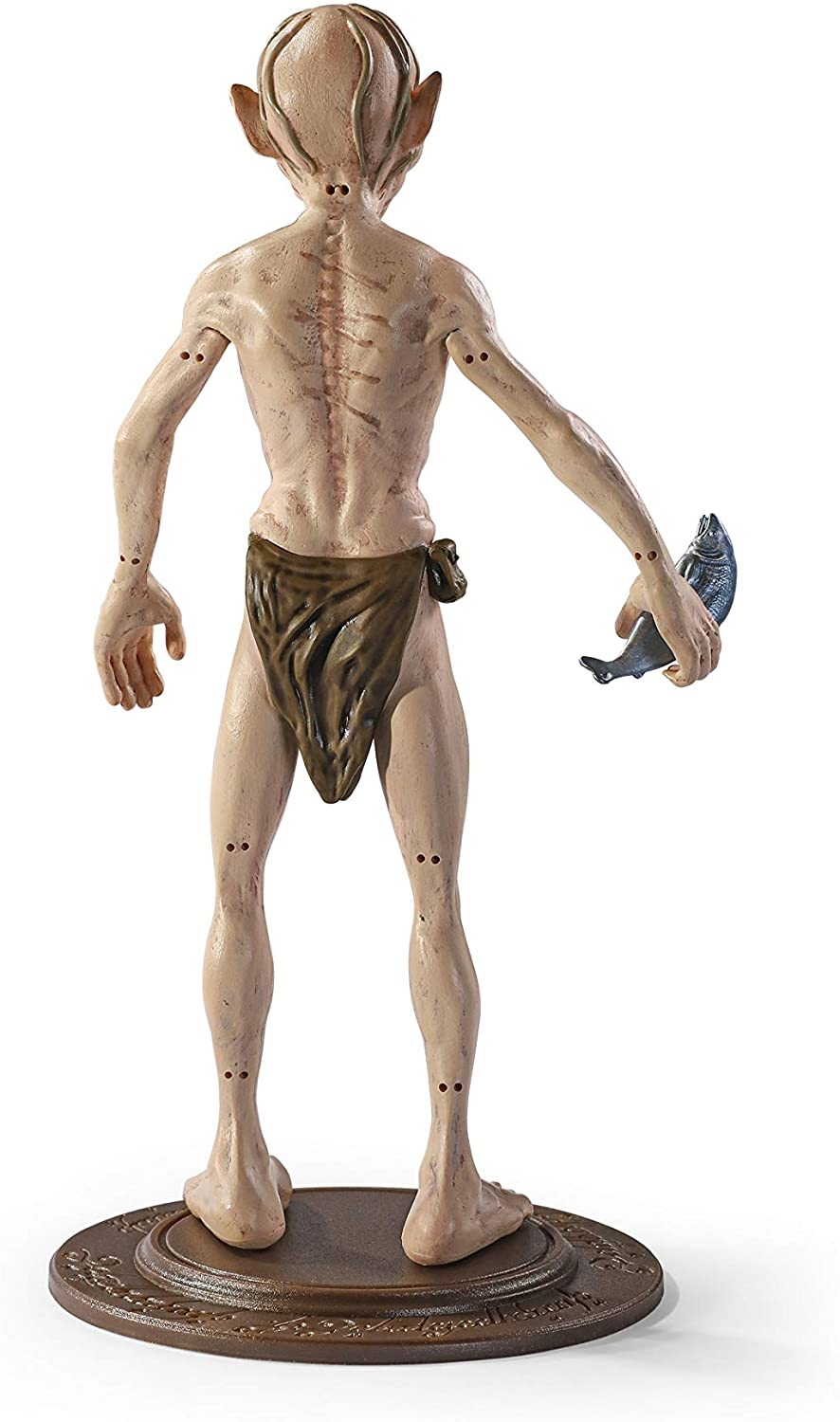 BendyFigs Lord of The Rings Gollum Oficial licenciado