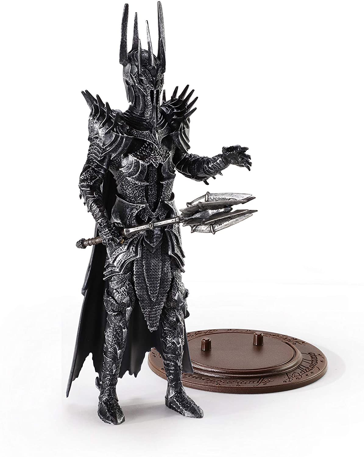 BendyFigs Lord of The Rings Sauron Oficial licenciado
