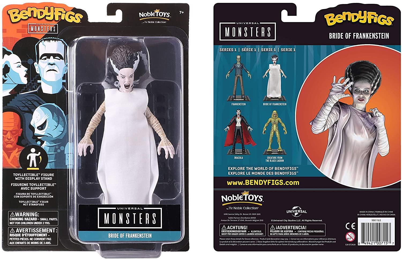 BendyFigs Universal Monsters A Noiva de Frankenstein