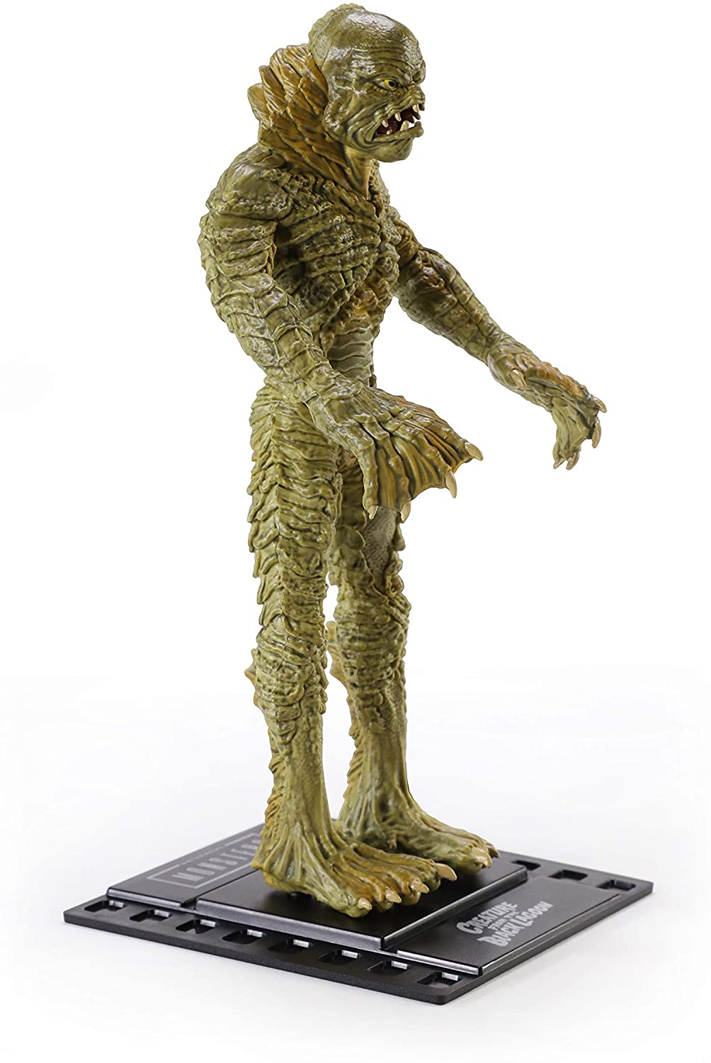BendyFigs Universal Monsters Creature Monstro da Lagoa Negra Oficial licenciado