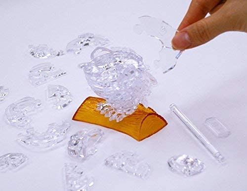 Bepuzzled Original 3D Crystal Quebra Cabeça Coruja