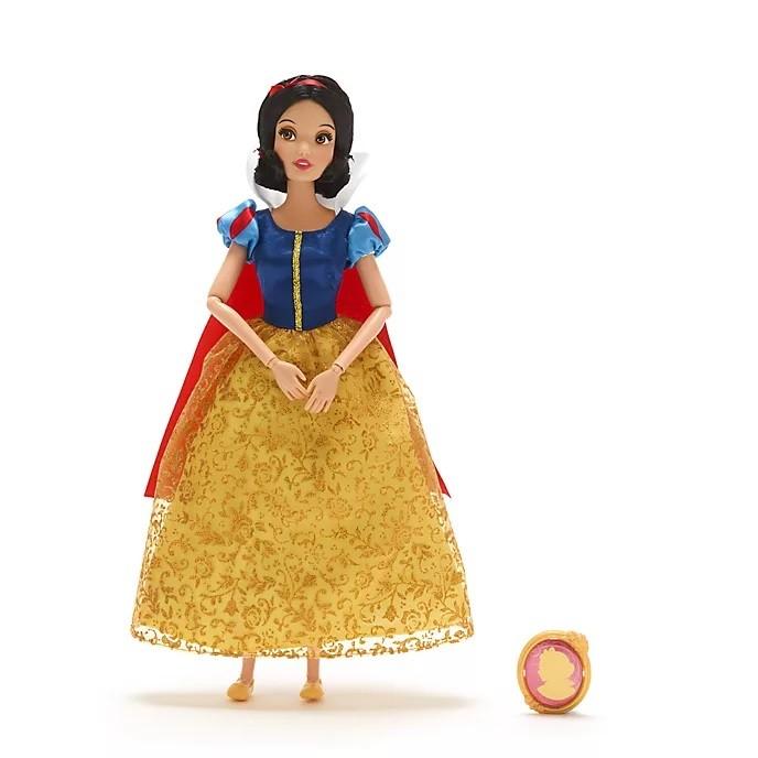 Boneca Branca De Neve Classic Doll com Pingente Original Disney Store