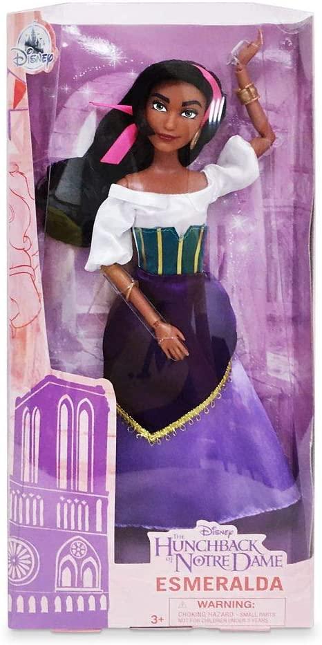 Boneca Corcunda de Notre Dame Esmeralda Classic Doll Original Disney Store