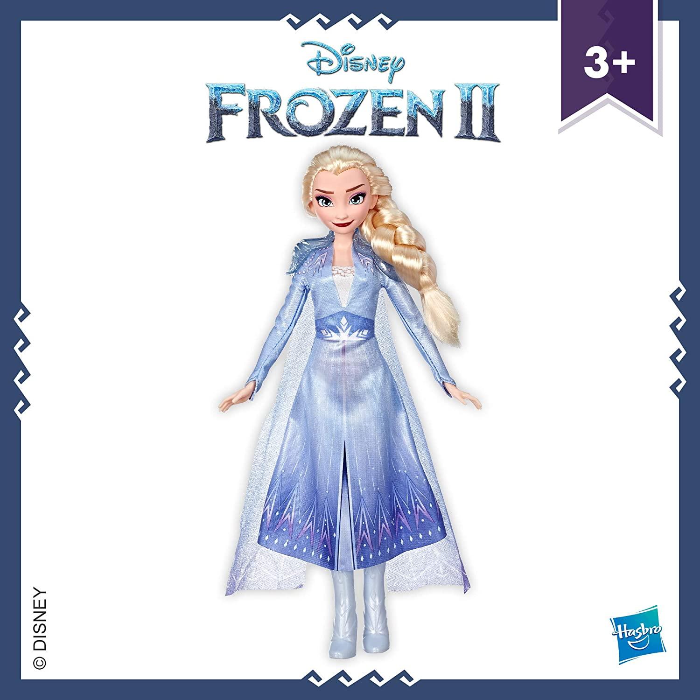 Boneca Disney Frozen Elsa Fashion Inspirada em Frozen 2 Oficial Licenciado