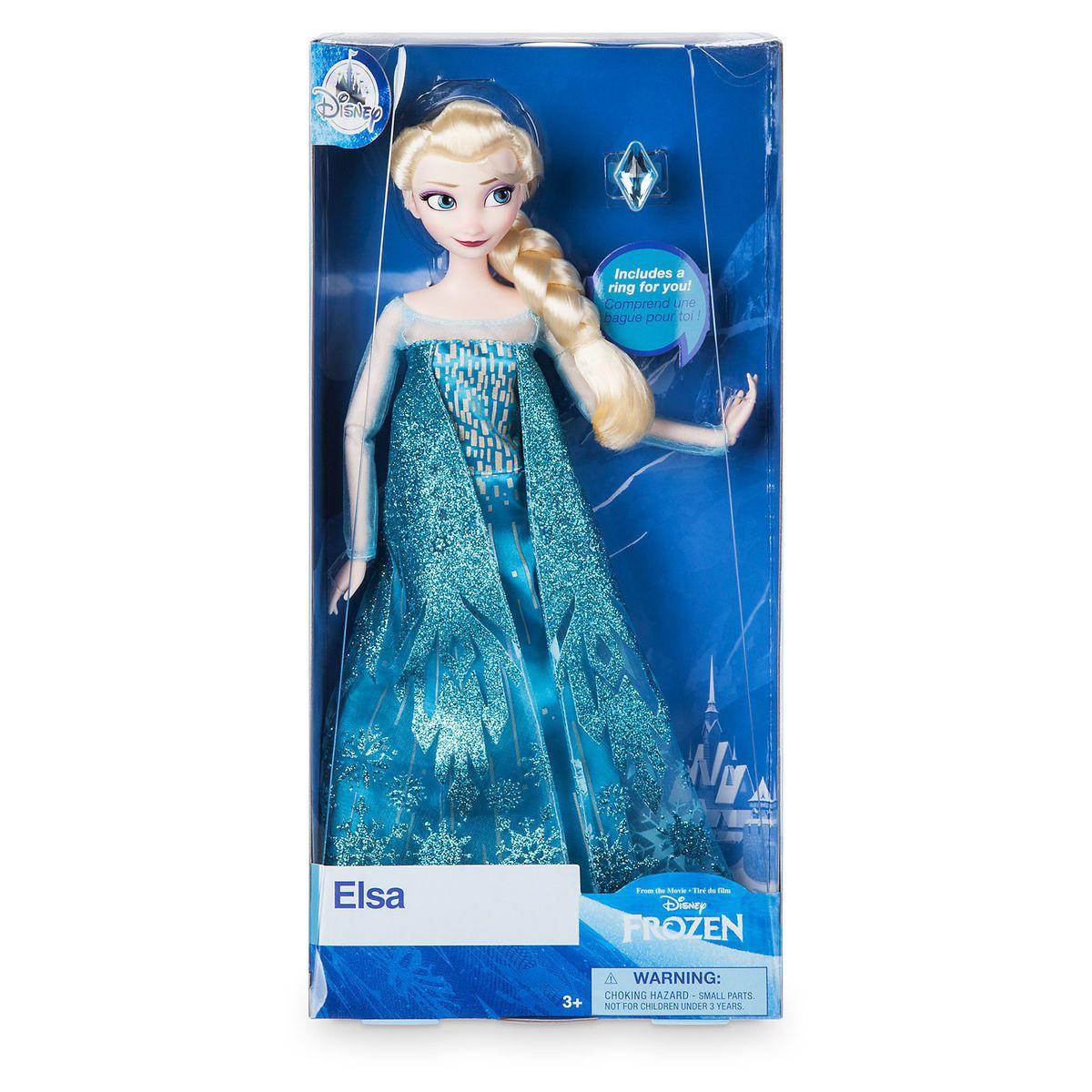 Boneca Elsa Frozen - Classic Doll - Original Disney Store
