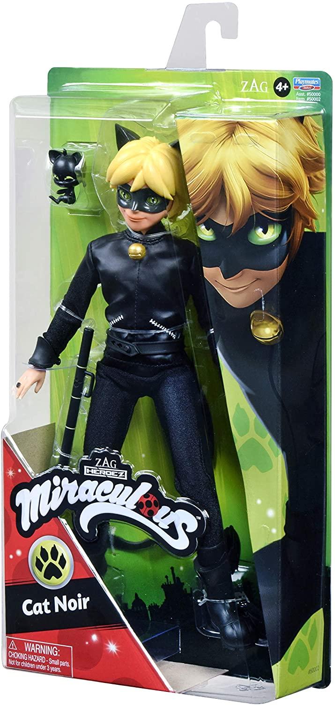 Boneca Miraculous Cat Noir Oficial Licenciado