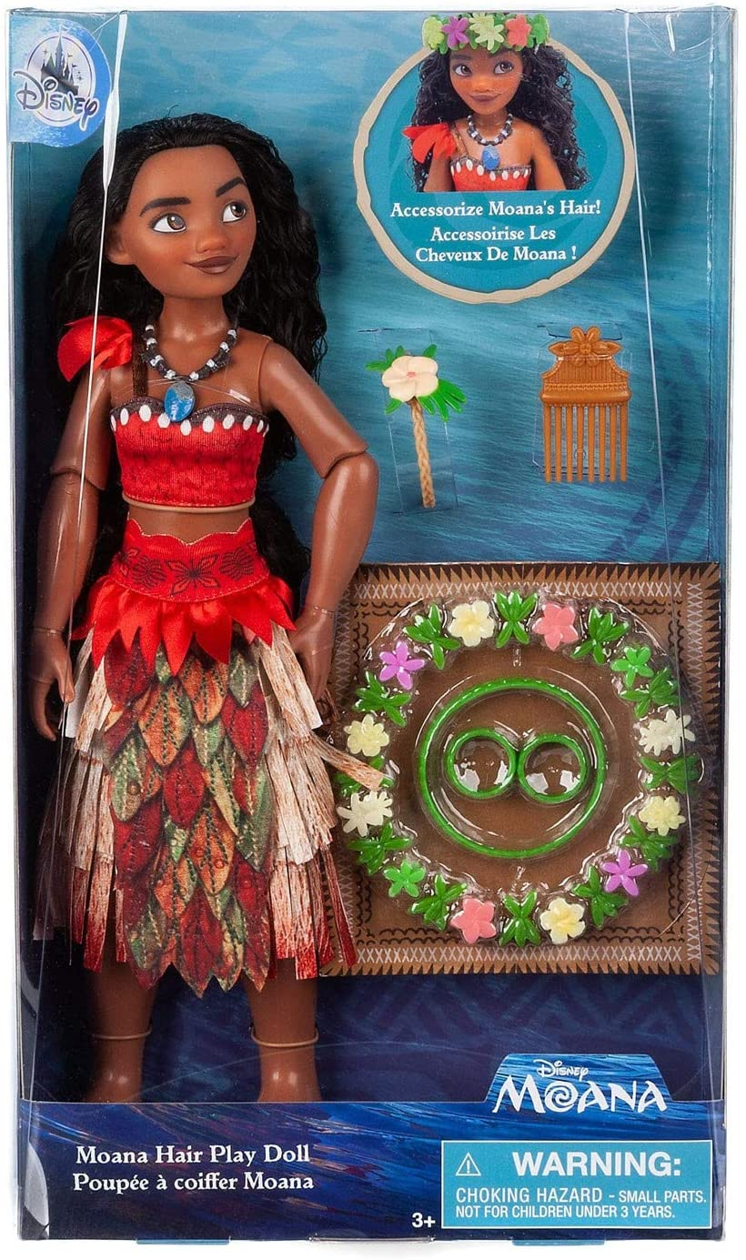 Boneca Moana Hair Play Original Disney Store