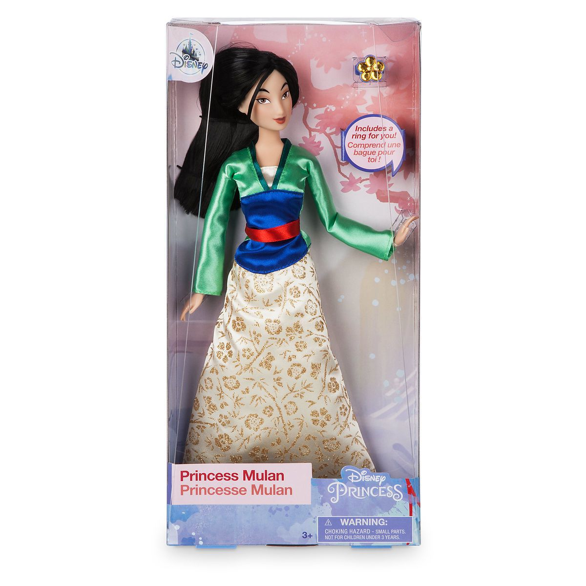 Boneca Princesa Mulan  Classic Doll - Original Disney Store
