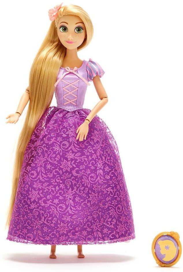 Boneca Rapunzel Classic Doll com Pingente Original Disney Store