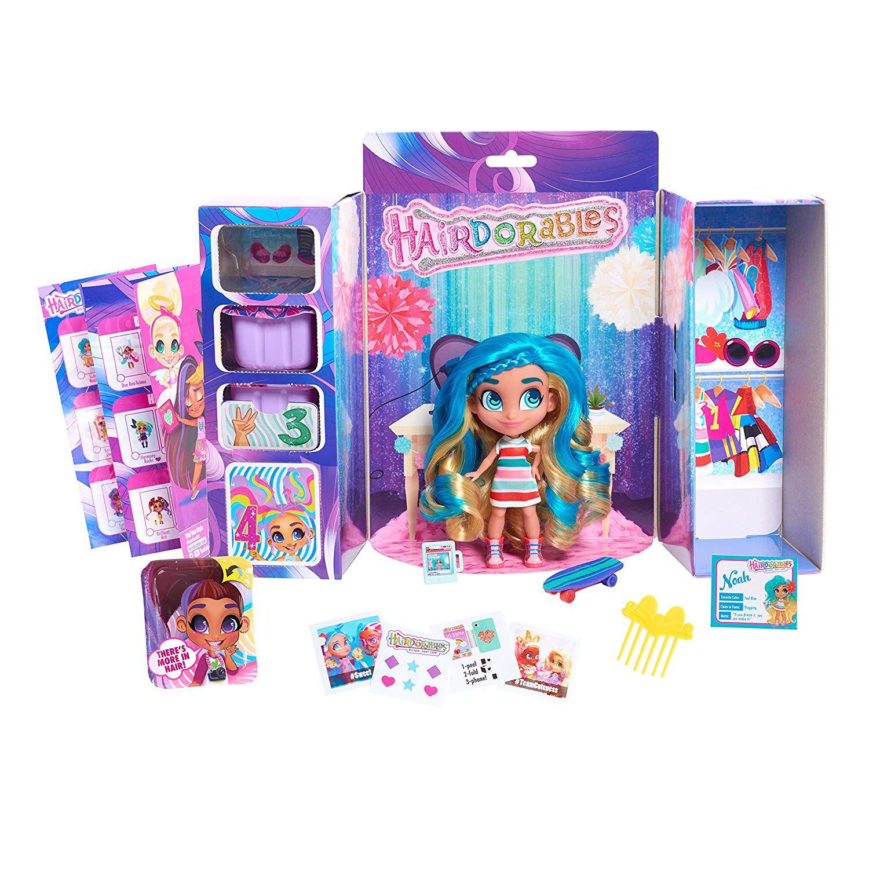 Bonecas Surpresas Colecionáveis Hairreables Infantil Com Acessórios Série 1