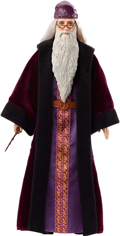 Boneco Albus Dumbledore Articulado Mattel 25cm Oficial Licenciado
