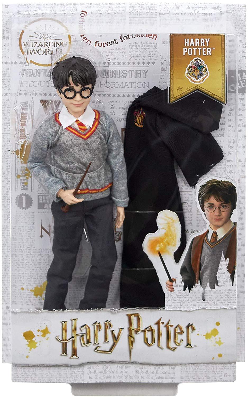 Boneco Harry Potter Articulado Mattel 25cm Oficial Licenciado