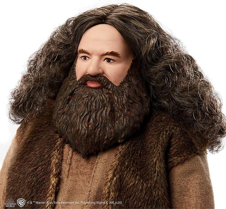 Boneco Harry Potter Rubeus Hagrid Articulado Mattel 30cm Oficial Licenciado