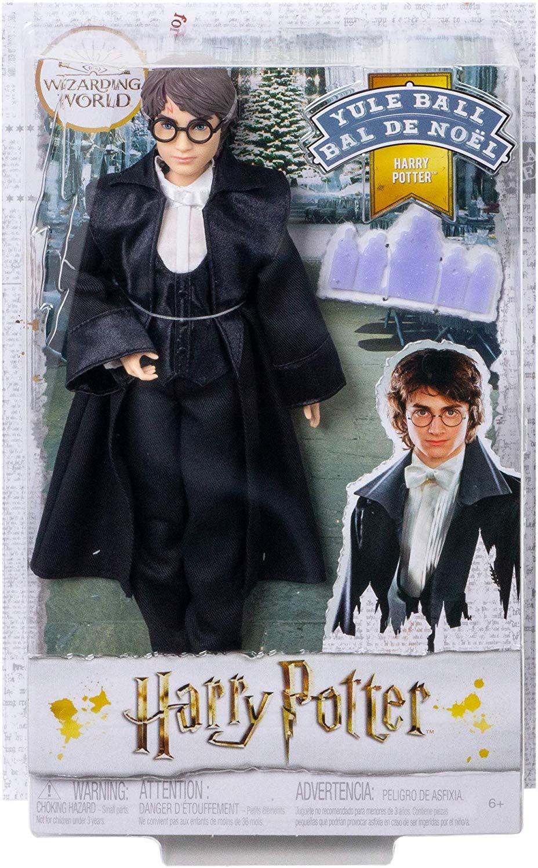Boneco Harry Potter Yule Ball Articulado Mattel 25cm Oficial Licenciado