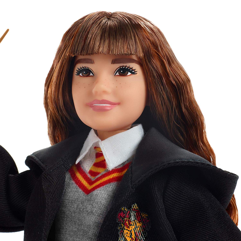Boneco Hermione Granger Articulado Mattel 25cm Oficial Licenciado