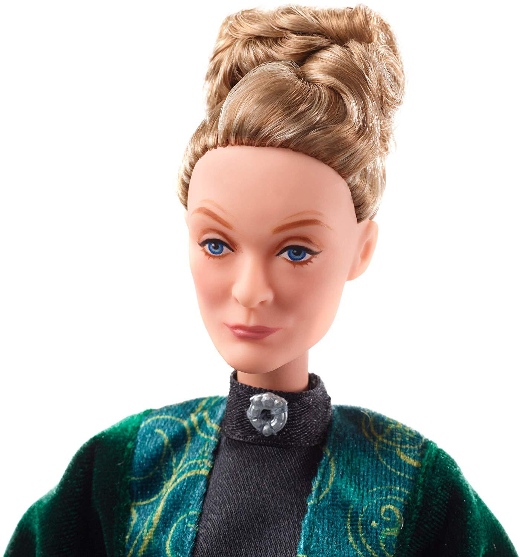 Boneco Minerva Mcgonagall Articulado Mattel 25cm Oficial Licenciado