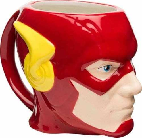 Caneca de Cerâmica DC Comics Flash Licenciado