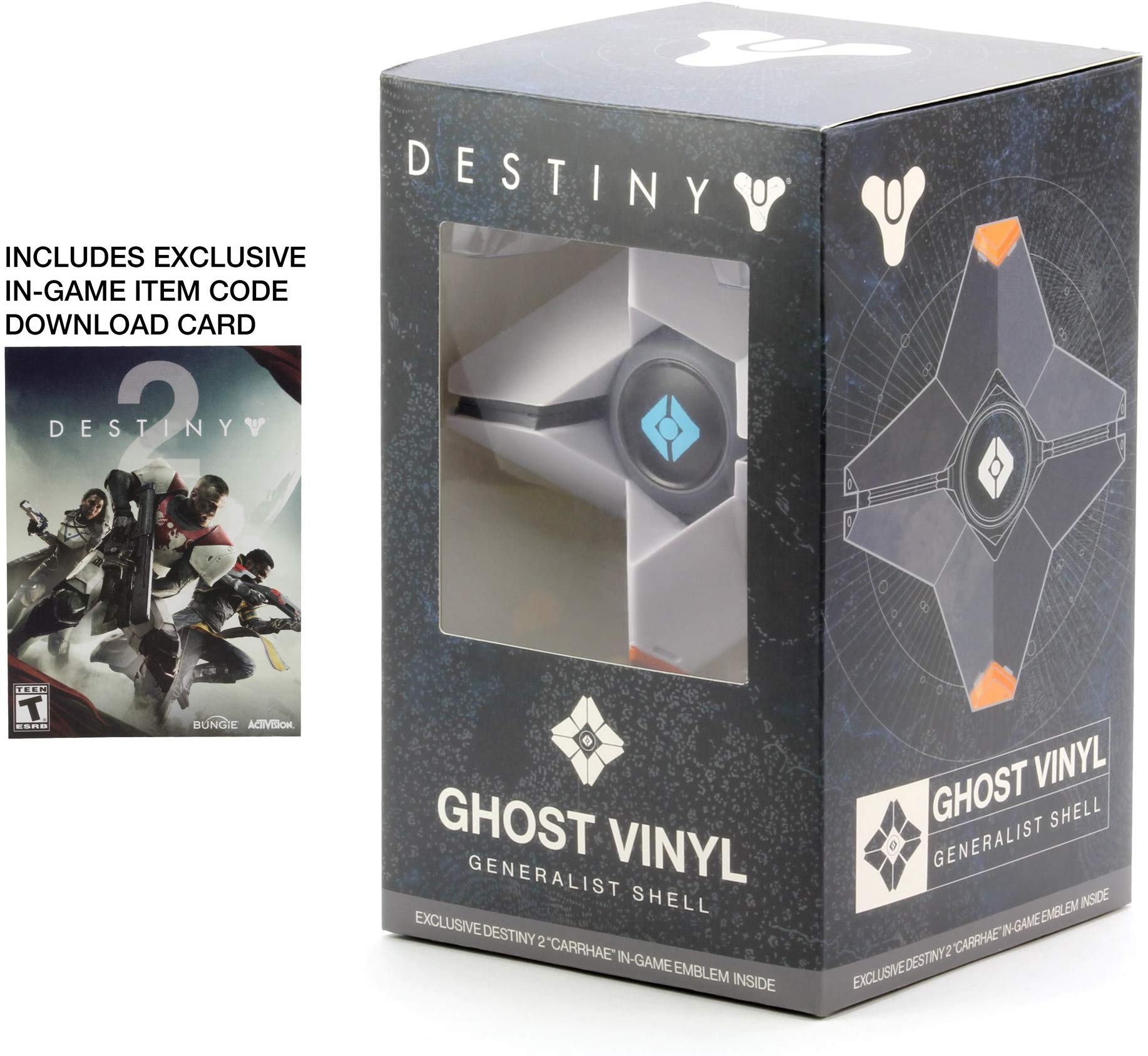 Destiny Ghost (Fantasma) Vinyl Figure - Branco
