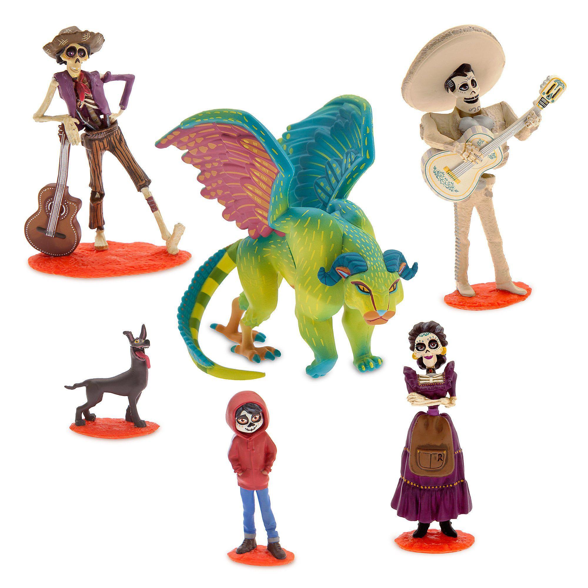 Disney Coco Pack Com 6 Personagens Oficial Disnet Store