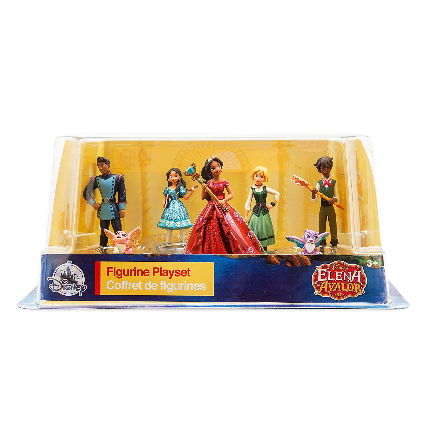 Disney Elena of Avalor Pack Com 7 Personagens Original Disney Store