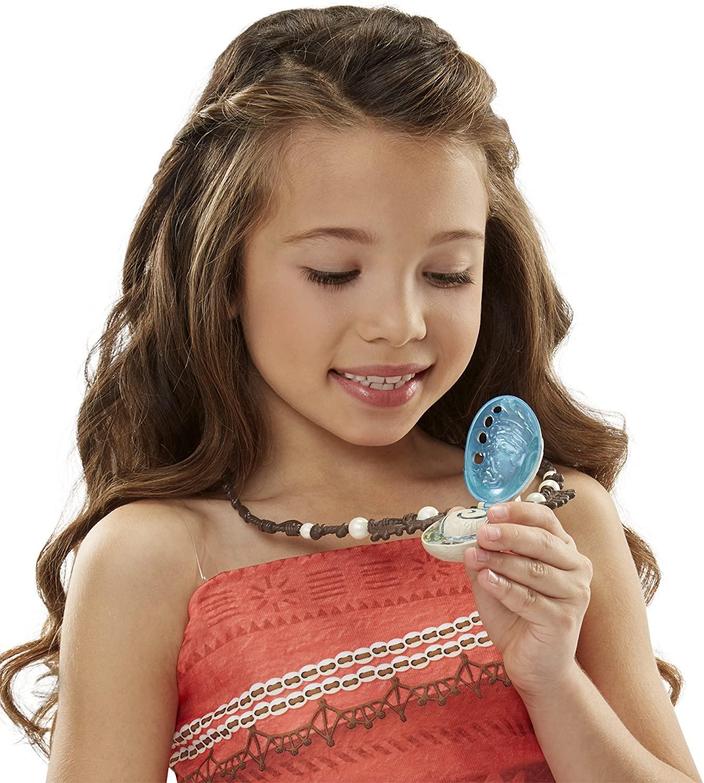 Disney Moana Colar Ilumina a concha mágica do coração de Te Fiti Oficial Licenciado