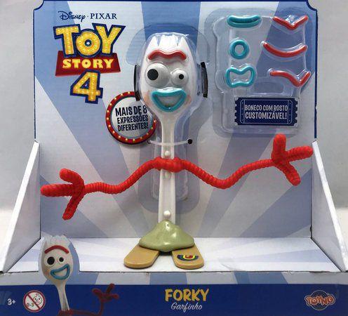 Disney Pixar Toy Story Forky Garfinho Customizável Oficial Licenciado