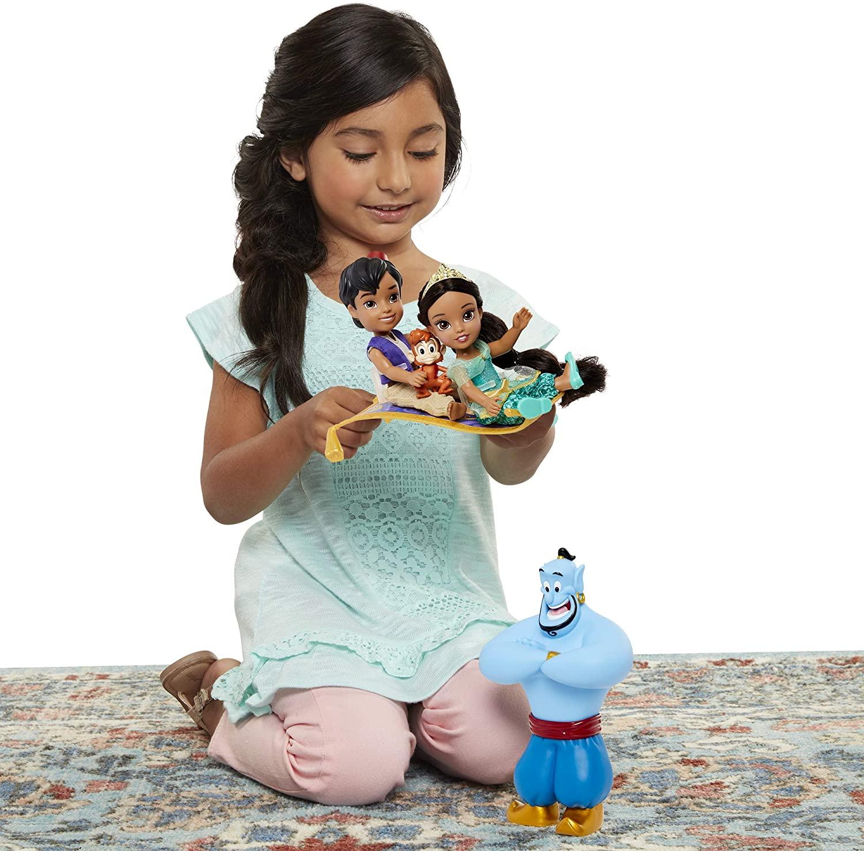 Disney Princess Jasmine & Aladdin Doll Petite Oficial