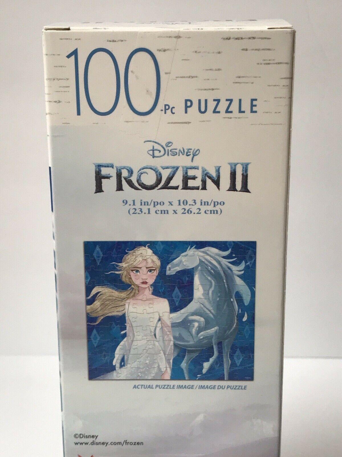 Disney Quebra Cabeça 100 peças Frozen II Elsa e Horse Oficial Licenciado