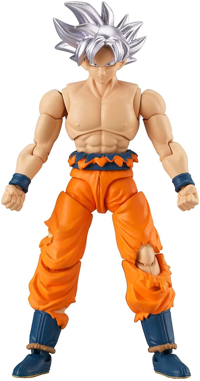 Dragon Ball Super Evolve Action Figure -Goku Ultra Instinct Silver Oficial Licenciado