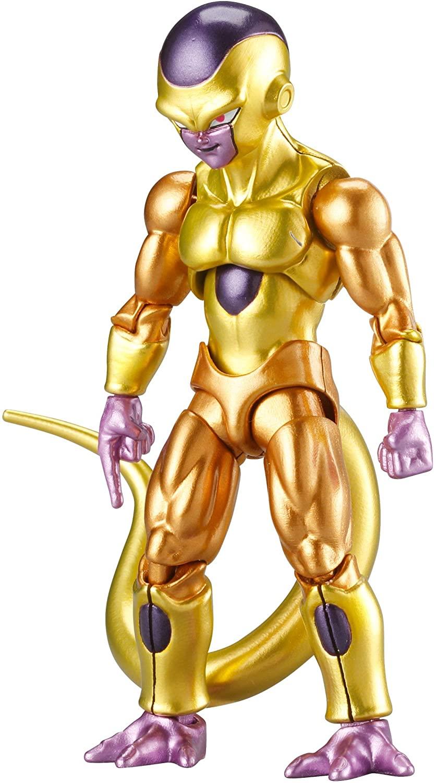 Dragon Ball Super Evolve Action Figure Golden Frieza Oficial Licenciado