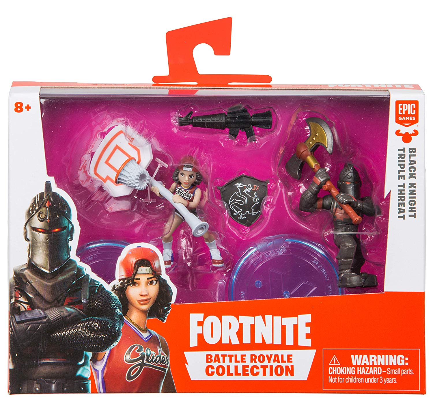 Fortnite Battle Royale Collection Black Knight & Triple Threat