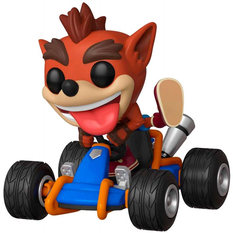 Funko Crash Team Racing Rides Crash Bandicoot