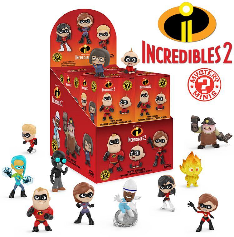 Funko Mystery Minis Disney Pixar Os incríveis 2 - Voyd