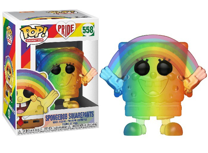 Funko Pop Animação Pride 2020 Bob Esponja 558