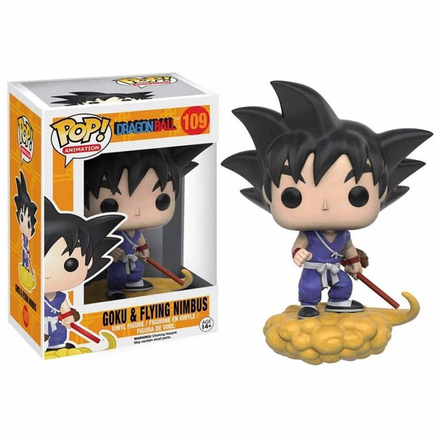 Funko Pop Anime Dragon Ball Z - Goku Flying Nimbus