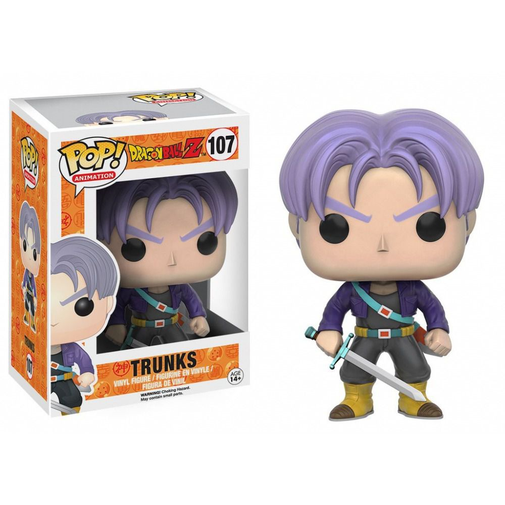 Funko Pop Anime Dragon Ball Z - Trunks