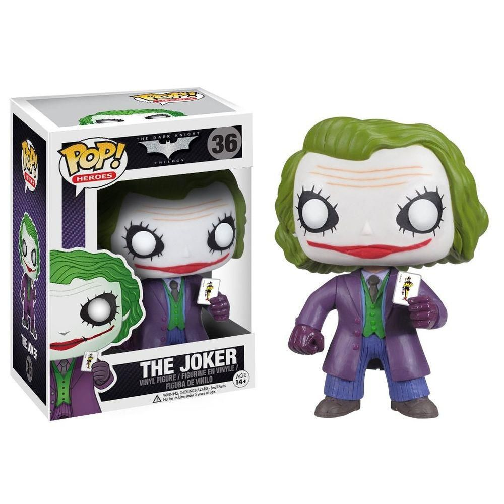 Funko Pop Batman The Dark Knight  The Joker 36 ( Coringa )