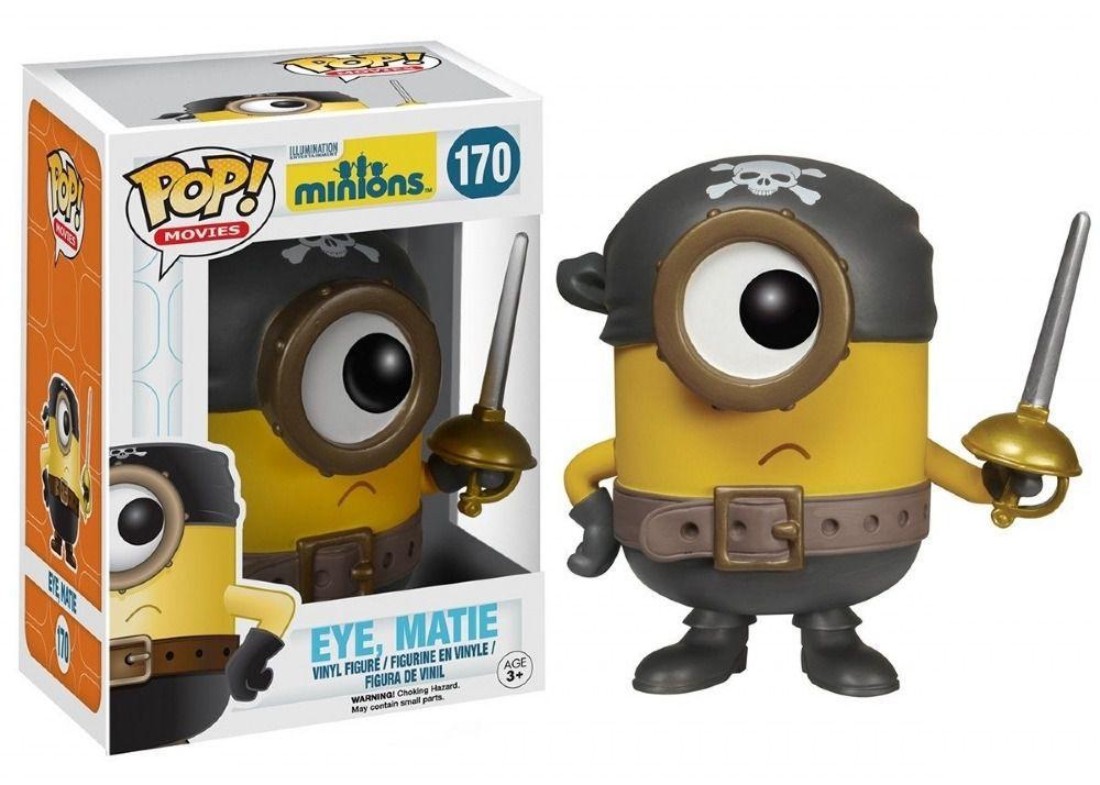 Funko Pop Cartoon Minions - Eye Matie