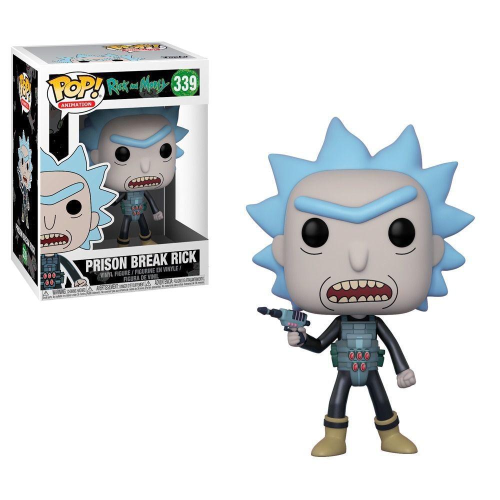 Funko Pop Cartoon Rick and Morty - Prison Break Rick