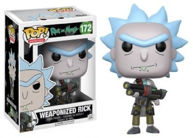 Funko Pop Cartoon Rick and Morty - Weaponized Rick