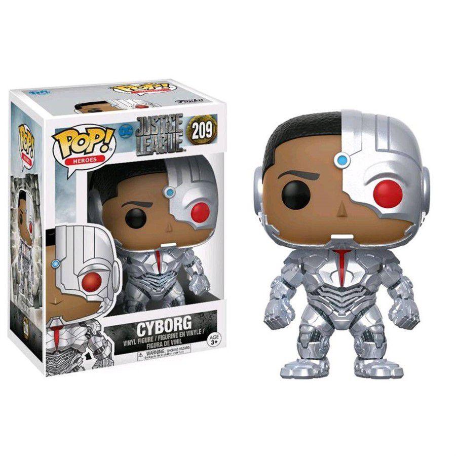 Funko Pop DC Liga da Justiça - Cyborg