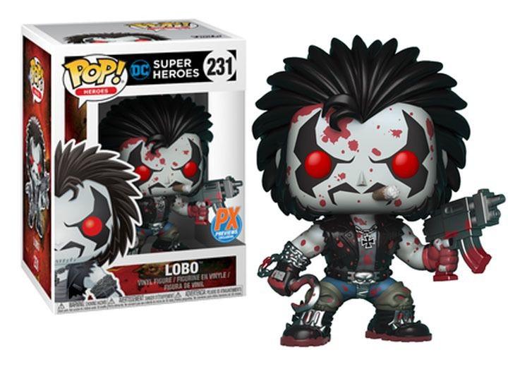 Funko Pop DC Super Heroes Lobo