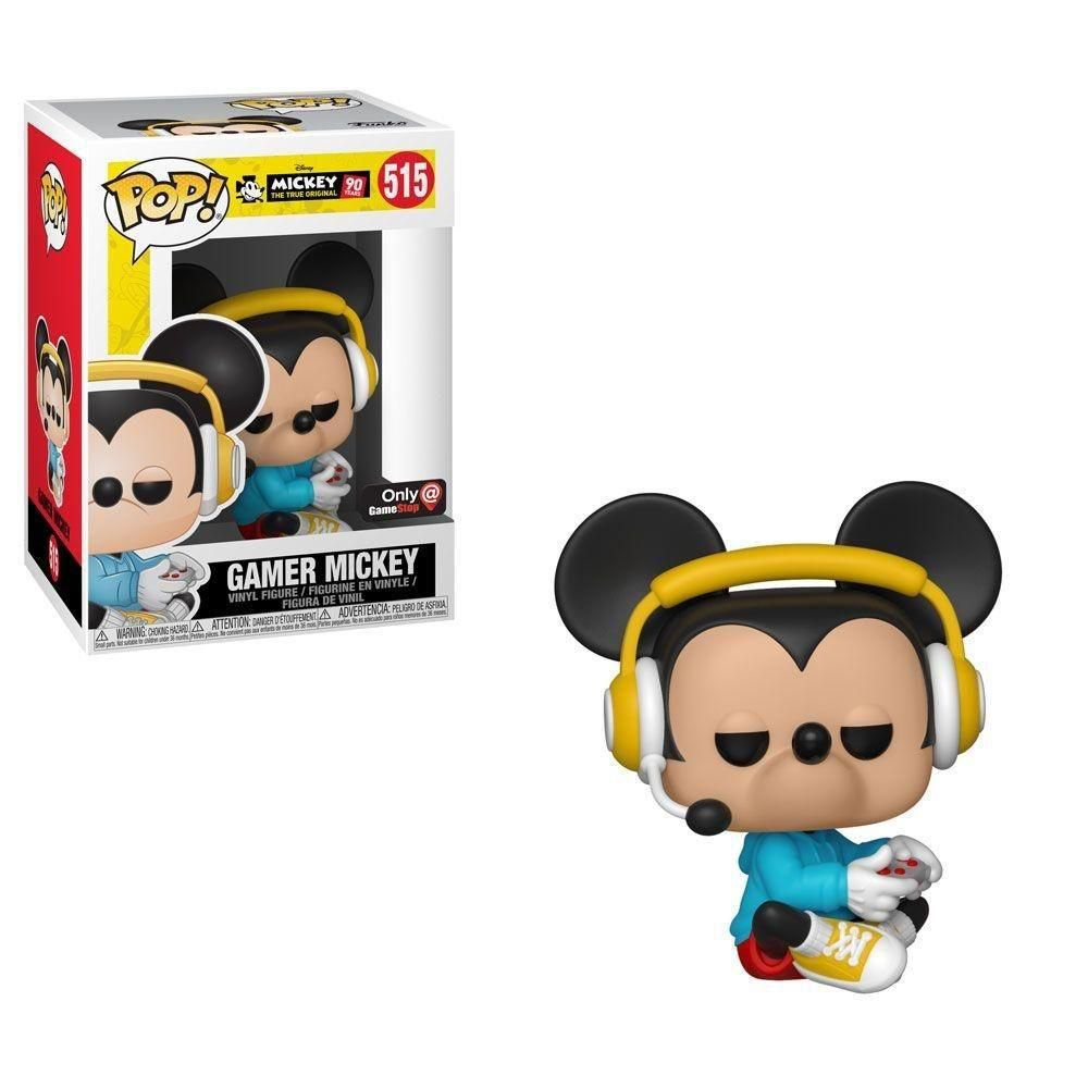Funko Pop Disney 90 Years 515 Sitting Gamer Mickey Exclusive