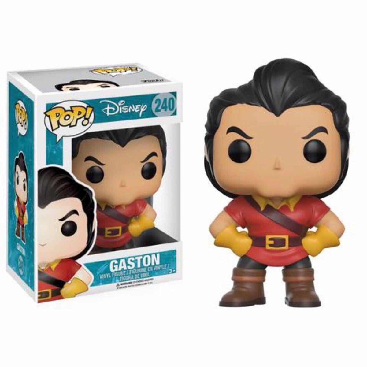 Funko Pop! Disney A Bela E A Fera - Gaston