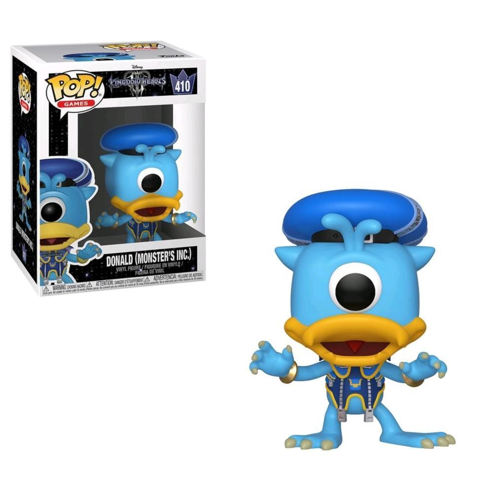 Funko Pop Disney Kingdom Hearts 3 Donald (monsters Inc)  410
