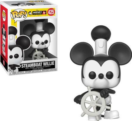 Funko Pop Disney - Mickey's 90Th  - Steamboat Willie