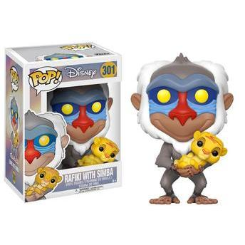 Funko Pop Disney - Rafiki With Simba